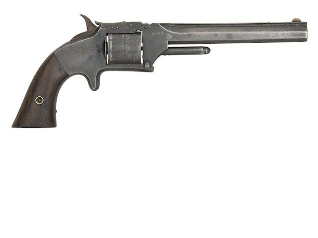 A .32 Smith & Wesson Old Model No. 2 Six-Shot Rim-Fire Revolver