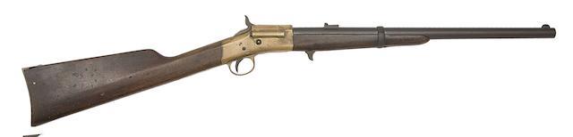 A .50 Warner's Patent Breech-Loading Rim-Fire Carbine
