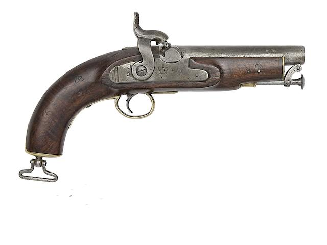 A 25-Bore Percussion Coastguard Pistol