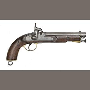 A 18-Bore East India Government Percussion Service Pistol