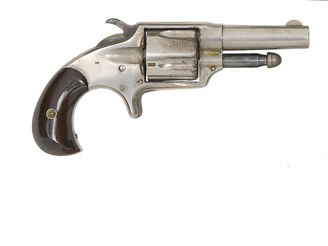 A .41 Smith's Patent Five-Shot Rim-Fire Pocket Revolver Or 'Suicide Special', And A Rare Manhattan Three-Shot Percussion Pepperbox Revolver