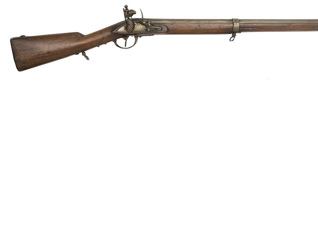 A French 16-Bore Flintlock Rifled Infantry Carbine