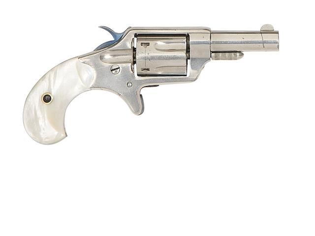 A .32 Colt New Line Second Model Five-Shot Rim-Fire Revolver