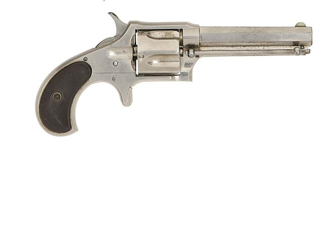 A .38 Remington-Smoot New Model No. 3 Five-Shot Rim-Fire Revolver