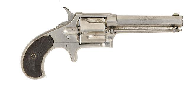 A .38 Remington-Smoot New Model No. 3 Five-Shot Rim-Fire Revolver