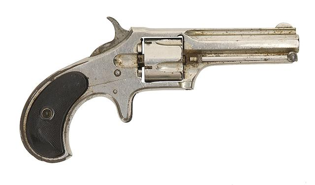 A .32 Remington-Smoot New Model No. 2 Five-Shot Rim-Fire Revolver