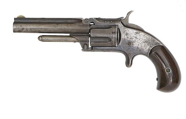 A .32 Smith & Wesson Model No. 1½ Second Issue Five-Shot Rim-Fire Revolver
