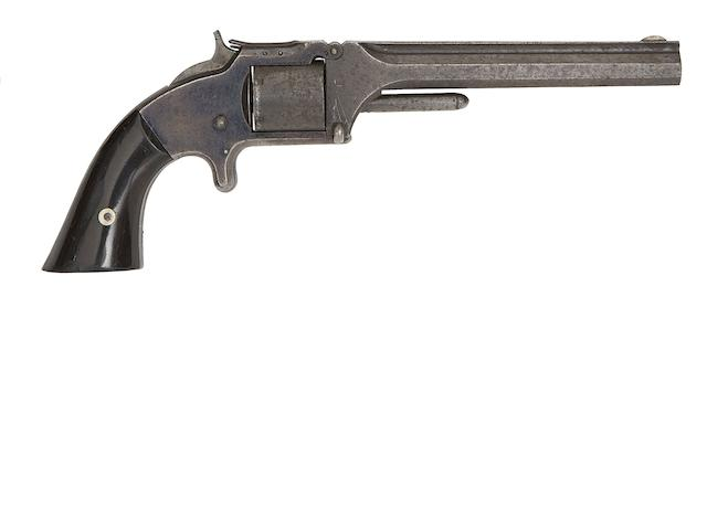 A .32 Smith & Wesson Old Model No. 2 Six-Shot Rim-Fire Revolver