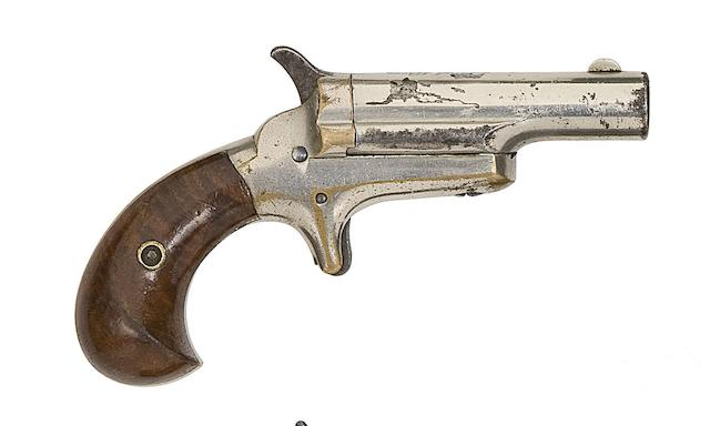 A Colt 'Thuer' .41 Third Model Rim-Fire Deringer, And A Brown Manufacturing (& Merrimack Arms Co.) 'Southerner' Rim-Fire Deringer