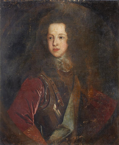 After François de Troy, 18th Century Portrait of James Edward Stuart, the 'Old Pretender'
