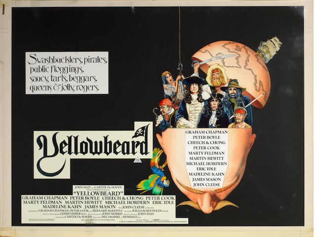 Yellowbeard,  Orion Pictures, 1983,