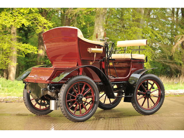 Formely the property of Ward reserve collection,1902  Delahaye  6hp Type O Vis-à-vis