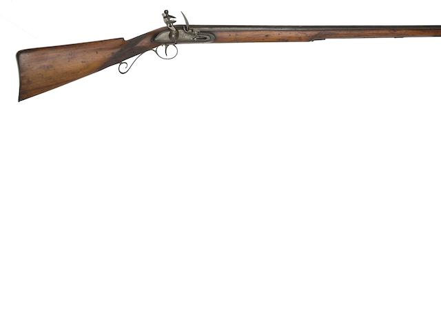 A 16-Bore East India Company Flintlock Rifle For Hyderabad State