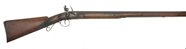 A 10-Bore East India Company Flintlock Musket For Hyderabad State