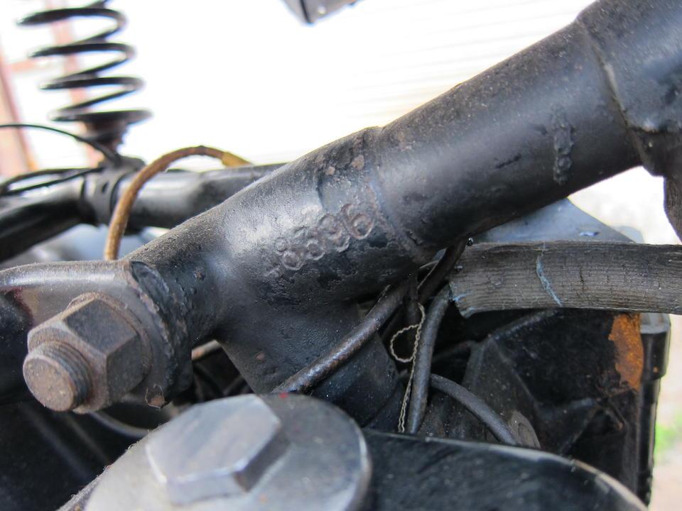 1949 Matchless 497cc G80S Frame no. 48396 Engine no. 50/G80S 13000