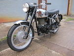 1959 Velocette 499cc Venom Frame no. RS12502 Engine no. VM2006