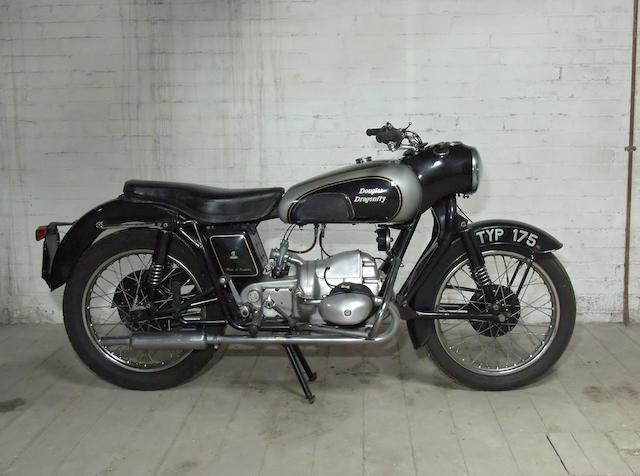 1957 Douglas 348cc Dragonfly Frame no. 1351/6 Engine no. 1351/6