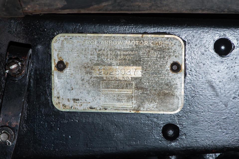1930 Pierce-Arrow Model B Phaeton  Chassis no. 2025037