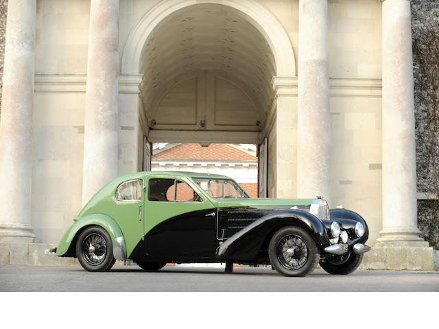 The ex-Ettore Bugatti,1938  Bugatti  Type 57C Special Coupé   Chassis no. 57335 Engine no. 340