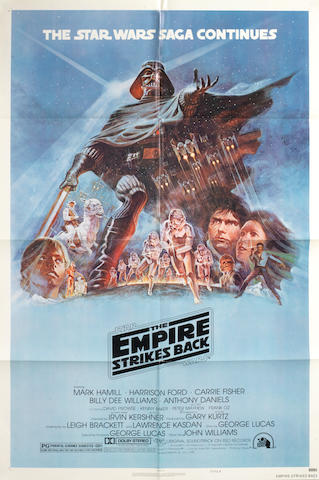 The Empire Strikes Back,  Twentieth Century Fox, 1980,