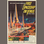 First Space Ship On Venus,  Crown International, 1962,