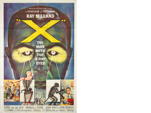 X: The Man With X-Ray Eyes,  American International Pictures, 1963,