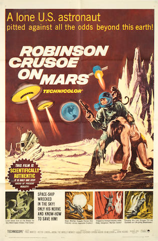 Robinson Crusoe On Mars, Paramount Pictures, 1964,