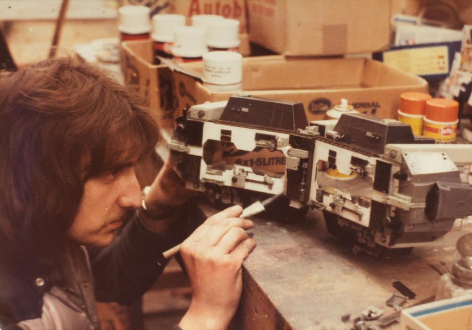 Alien, 1979: A detailed miniature model of the Nostromo Engine Room, designed and made by William 'Bill' Pearson,
