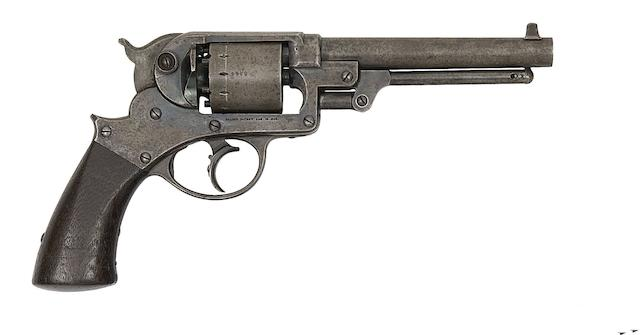 A .44 Starr Arms Co. 1858 Model Army Six-Shot Percussion Revolver