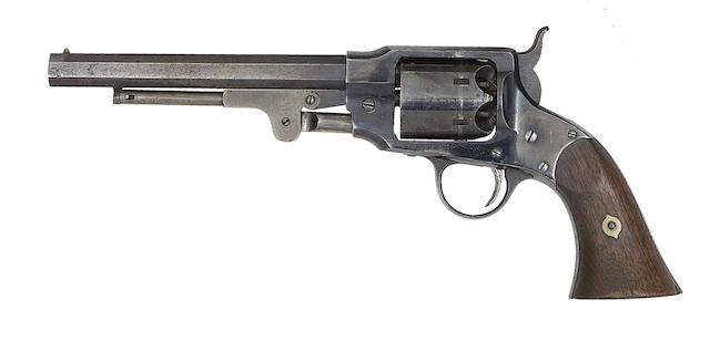 A .44 Rogers & Spencer Army Model Six-shot Percussion Revolver