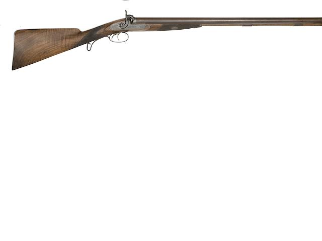 An 11-Bore D.B. Percussion Sporting Gun