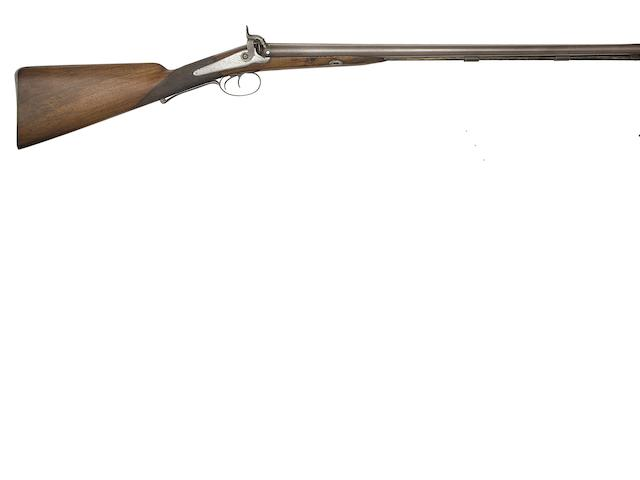 A 15-Bore D.B. Percussion Sporting Gun, And Another Of 16-Bore