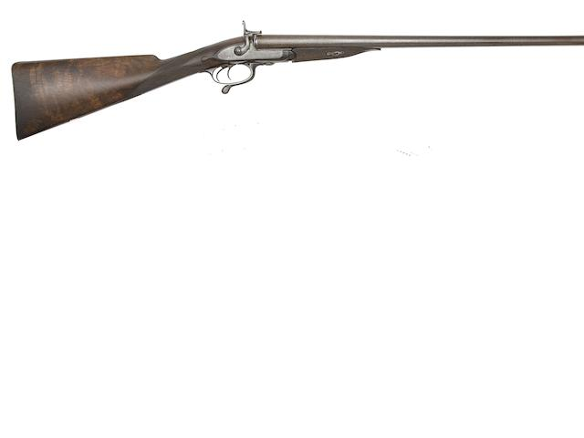 Two 13-Bore D.B. Pin-Fire Sporting Guns