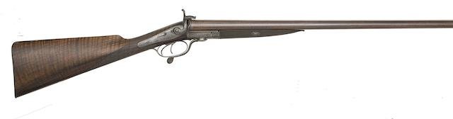 A 13-Bore D.B. Pin-Fire Sporting Gun