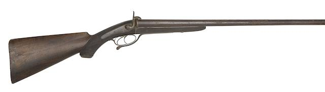 A Rare Egg's Improvement 12-Bore D.B. Pin-Fire Sporting Gun