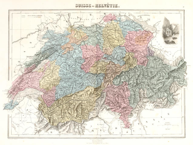 MIGEON (J.) Géographie universelle. Atlas-Migeon... historique, scientifique, industriel et commercial, 1882; and others (4)