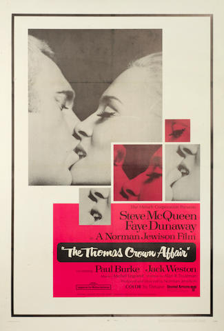 The Thomas Crown Affair, United Artists, 1968, 2