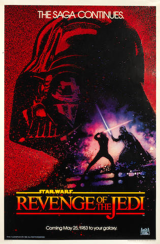 Star Wars - Episodes IV - VI: Three U.S. one-sheet posters,  comprising: 3