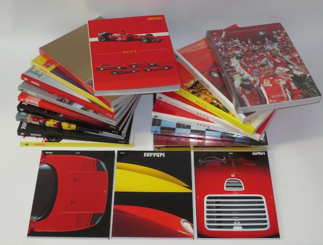 Ferrari Yearbooks; 1989-2007,