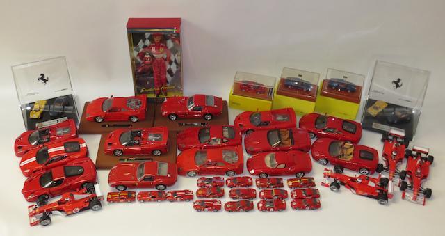 A quantity of assorted Ferrari models,