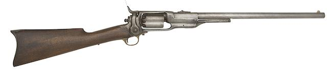 A Colt .56 1855 Model Five-Shot Percussion Revolving Carbine