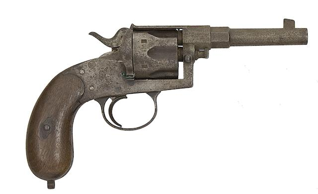 A German 10.4MM 1883 Model Six-Shot Centre-Fire Revolver