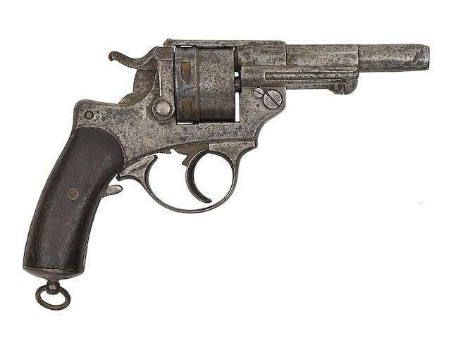 A French 11MM 1873 Model Six-Shot Centre-Fire Revolver