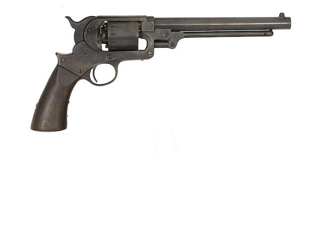 A .44 Starr Arms Co. 1863 Model Army Six-Shot Percussion Revolver