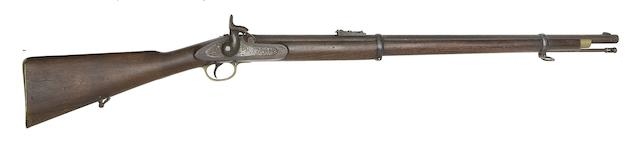 A 25-Bore Lancaster's Patent Royal Sappers And Miners Percussion Carbine, And A .577 1853 Pattern Third Model Percussion Rifle Musket