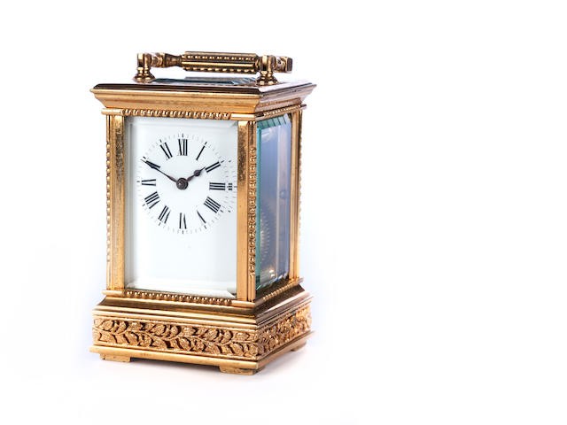 A miniature carriage timepiece
