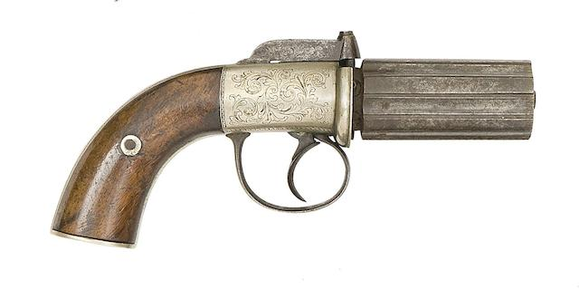 A 120-Bore Six-Shot Percussion Pepperbox Revolver