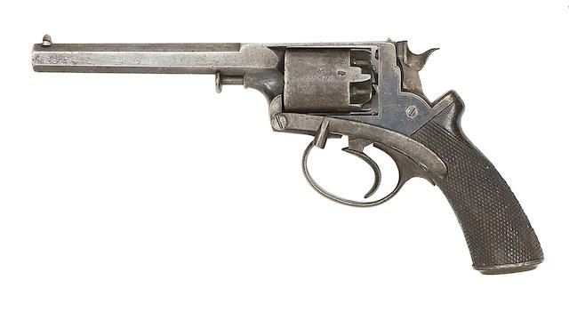 A 54-Bore Beaumont-Adams Patent Five-Shot Double-Action Percussion Revolver