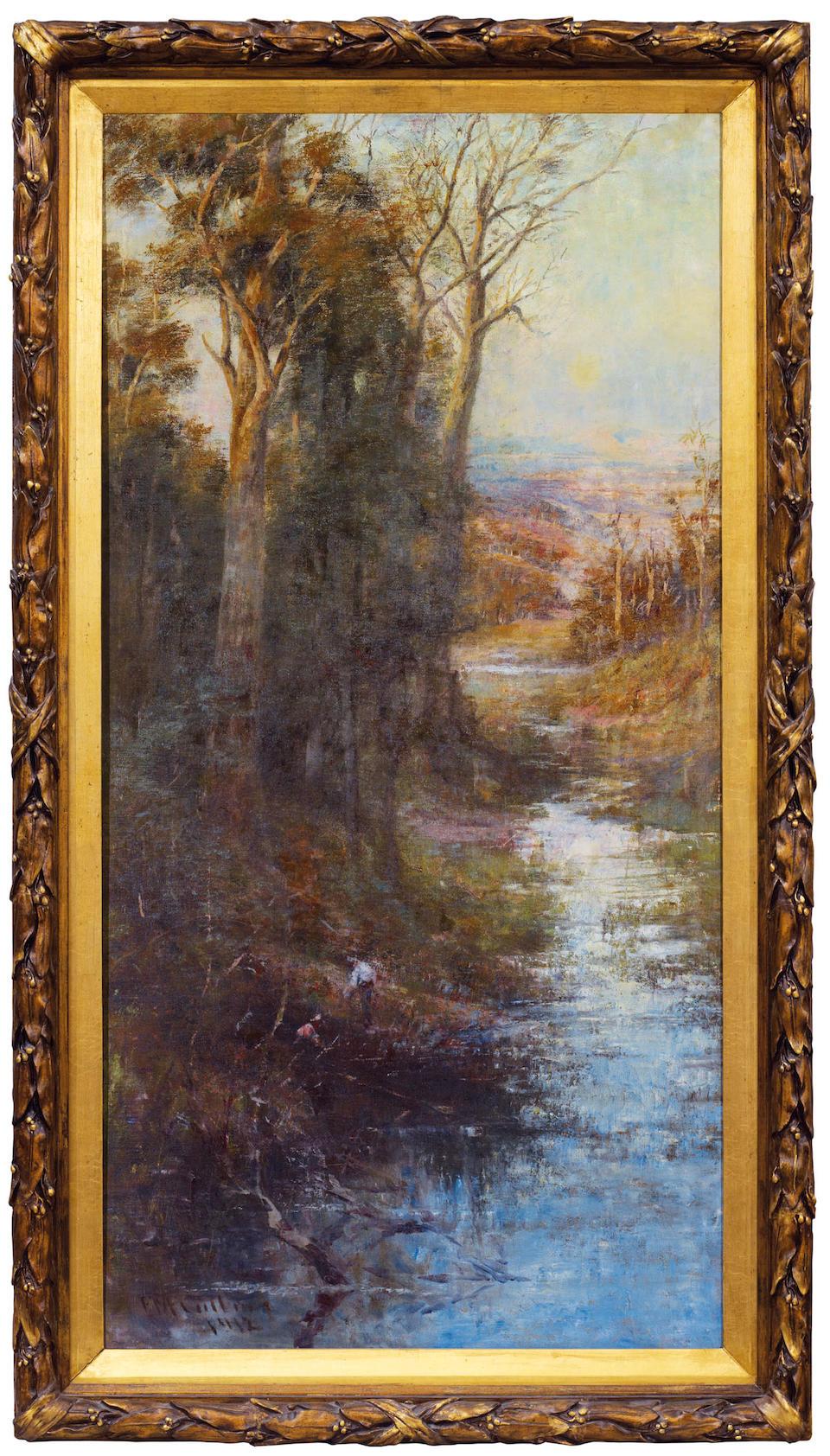 Frederick McCubbin (1855-1917) Midsummers Eve 1902-1912