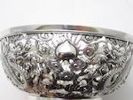 A silver bowl by Wang Hing & Co Late 19th/early 20th century